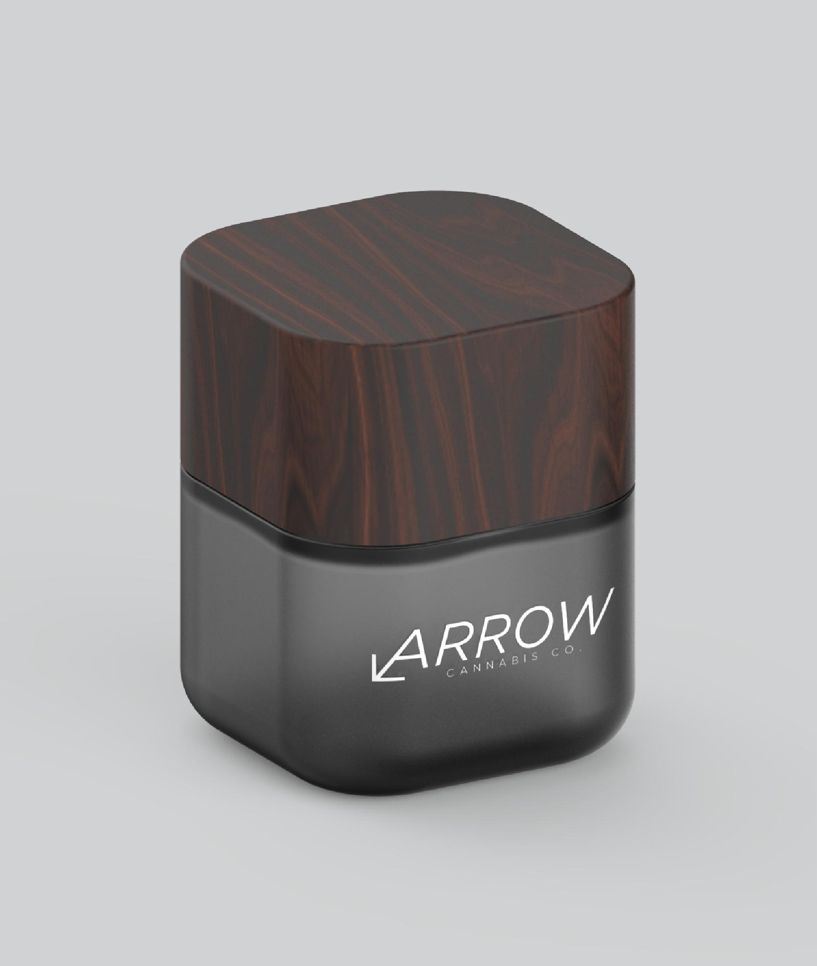 Arrow-custom-softsquare-glass-weed-jars
