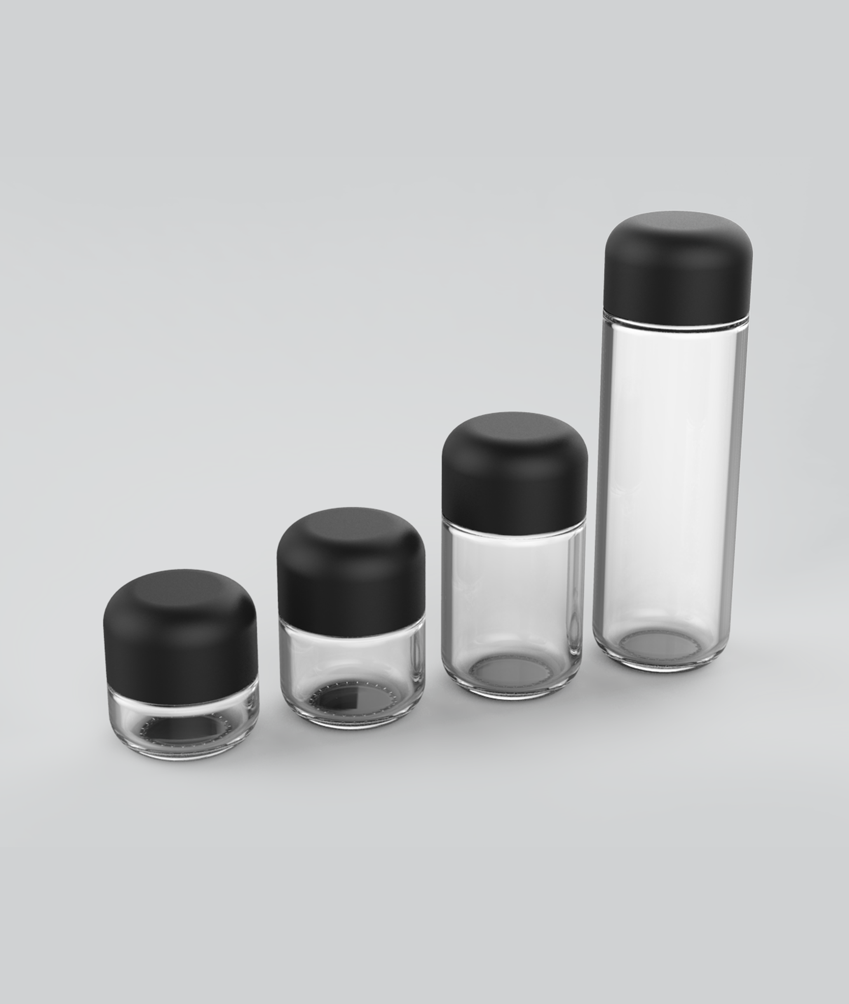 Hiline-glass-concentrate-jars
