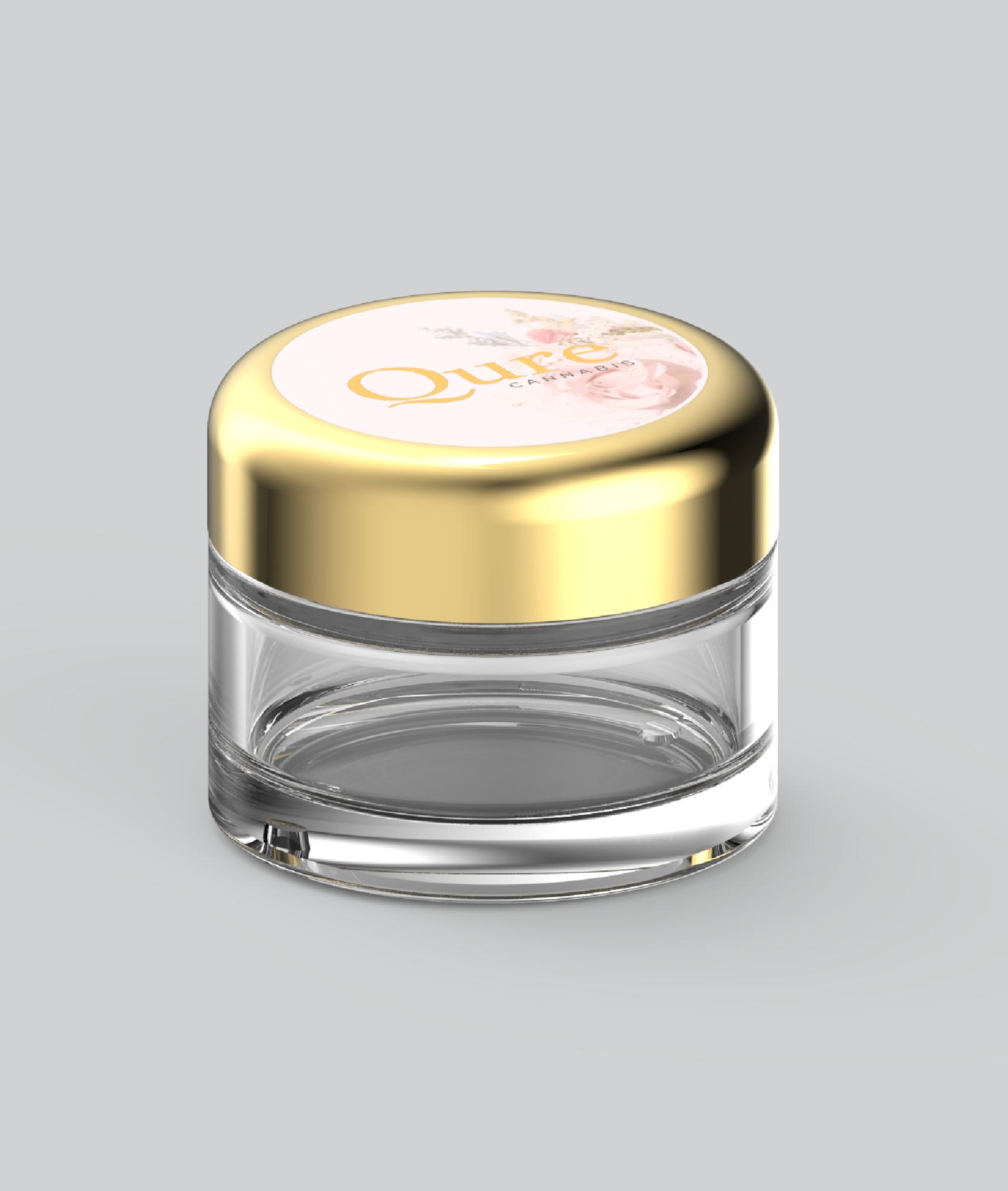 qure-custom-child-resistant-glass-jars