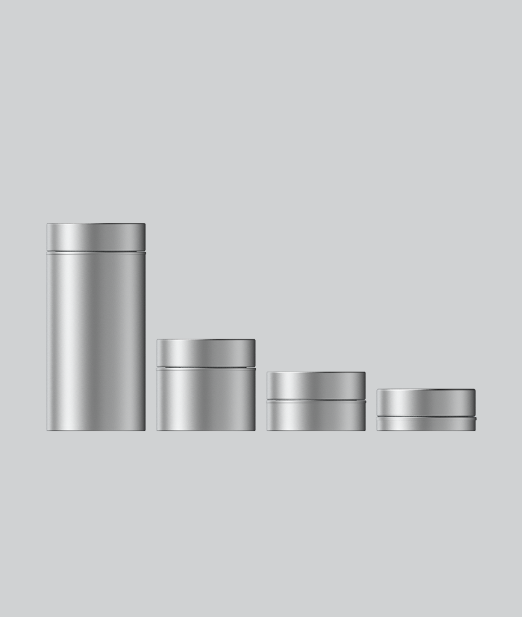 Round-metal-tin-containers